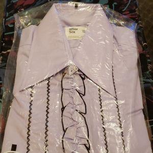 Vintage lilac dress shirt